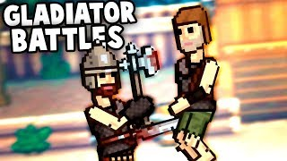 Absolutely and TOTALLY Silly GLADIATOR BATTLES! (Gladihoppers Gameplay)