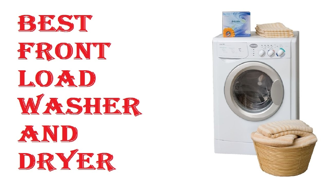best front load washer best front load washer and dryer 31182
