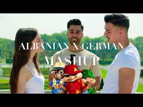 ALBANIAN X GERMAN - MASHUP 13 SONGS KATERICHOCITE 2018
