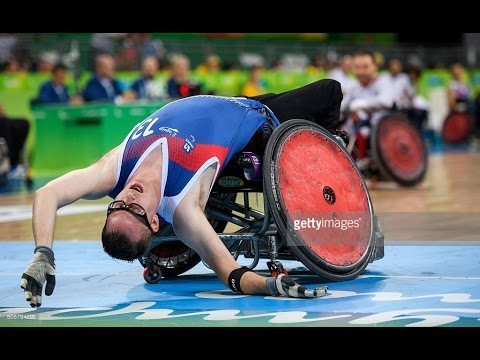 Wheelchair Rugby | Japan vs France | Preliminary | Rio 2016 Paralympic Games
