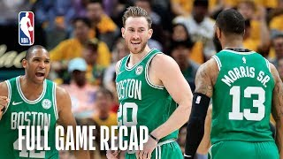 CELTICS vs PACERS | Boston First to Advance! | Game 4