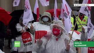 Allemagne : des employés de banques se mettent en grève