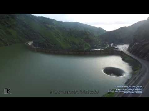 Thumbnail: Drone Captures 'Glory Hole' Spillway at Lake Berryessa Overflowing - FULL