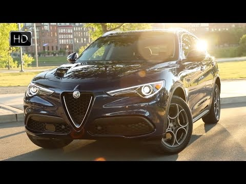 2018 Alfa Romeo Stelvio Ti Lusso Italian SUV Design & Driving Footage HD