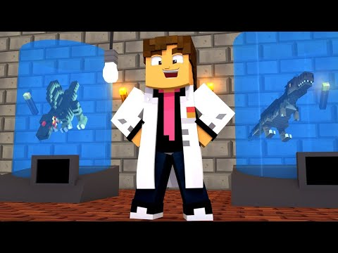 Minecraft: LABORATORIO DE DINOSSAUROS ! - ARK SURVIVAL Ep.2 ‹ LOKI ›