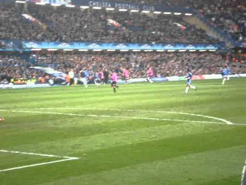 Chelsea vs FC Copenhagen/København - During the Match - 16/03/11