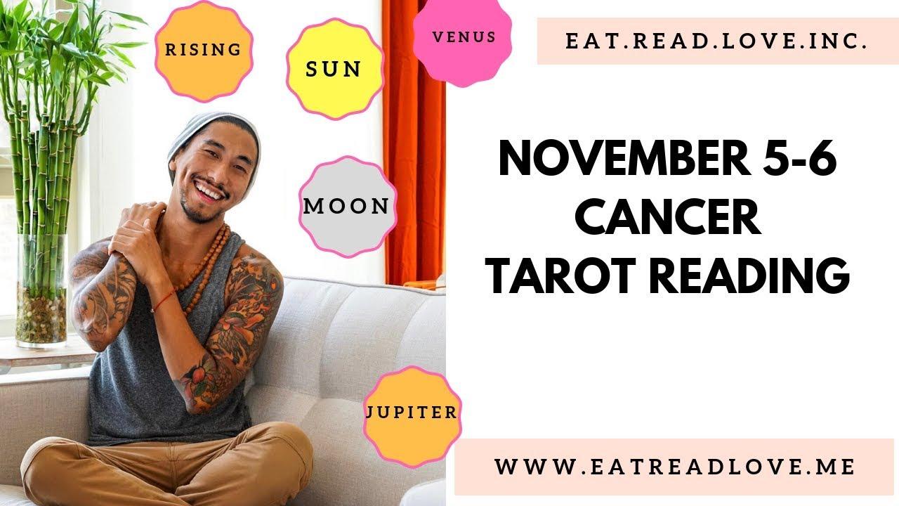 cancer weekly tarot november 5 2019