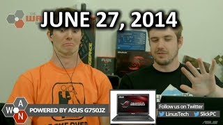 The WAN Show: Ubisoft is trying to be cool and YouTube supports 60FPS now! - June 27th, 2014