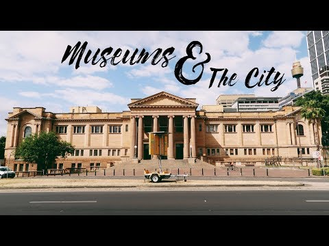 Museums & The City; Sydney, September 2017