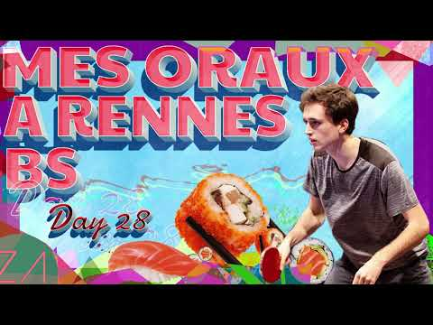 STORY TIME - MES ORAUX A RENNES SB - DAY 28