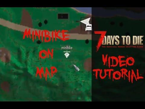 7 Days To Die ► Как включить отображение минибайка на карте ► Инструкция