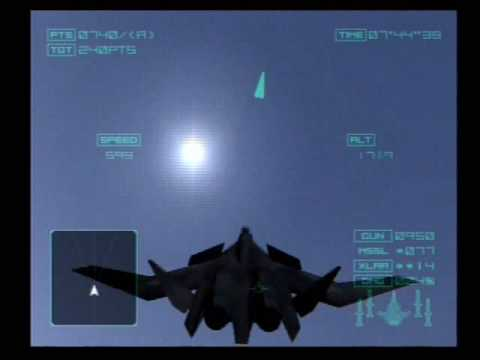 ACE Combat 4 Shattered Skies-Getting all the ACES: mission 1