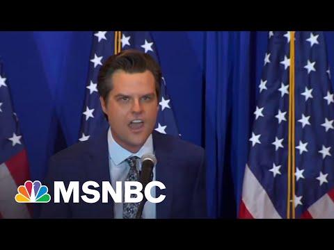 Feds Eye Matt Gaetz's Intern Ex-Girlfriend In Sex Crimes Probe   MSNBC