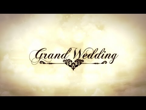 After Effects Template  Grand Wedding  Youtube