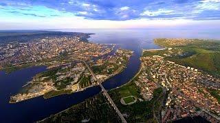 Aerial video Varna България от високо