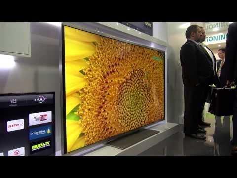 Hisense XT800 + XT900 Ultra HD TV 4K Fernseher IFA 2013 Eyes On