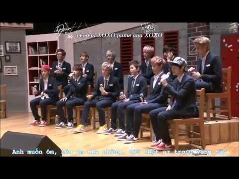 [vietsub + kara] EXO - XOXO (Korea ver) Live