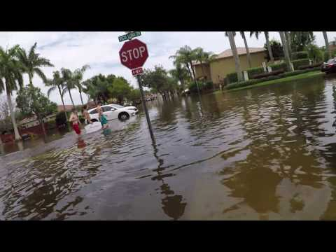 What to do when its flooded outside (EDIT) Broward County, Florida