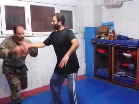 Ninjutsu jutai jutsu near  fighting uzak dövüs teknik 5