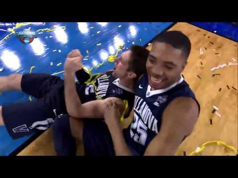 Kris Jenkins with the UNBELIEVABLE Buzzer Beater! HD NCAA FINALS
