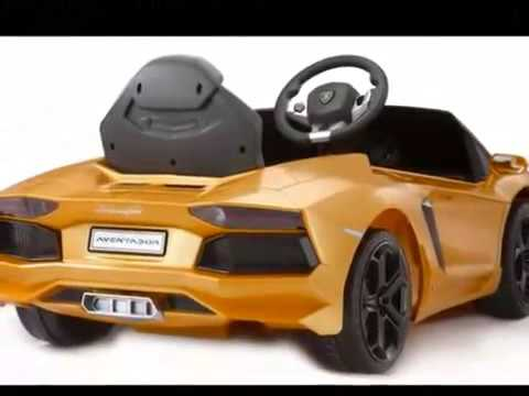 Electric Lamborghini Kid Car