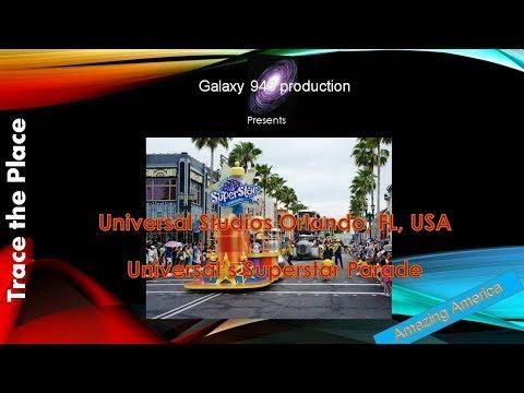 Universal Studios Orlando, FL, USA-Universal's Superstar Parade