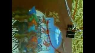 Видео урок 1 как плести фенечку прямым плетением!