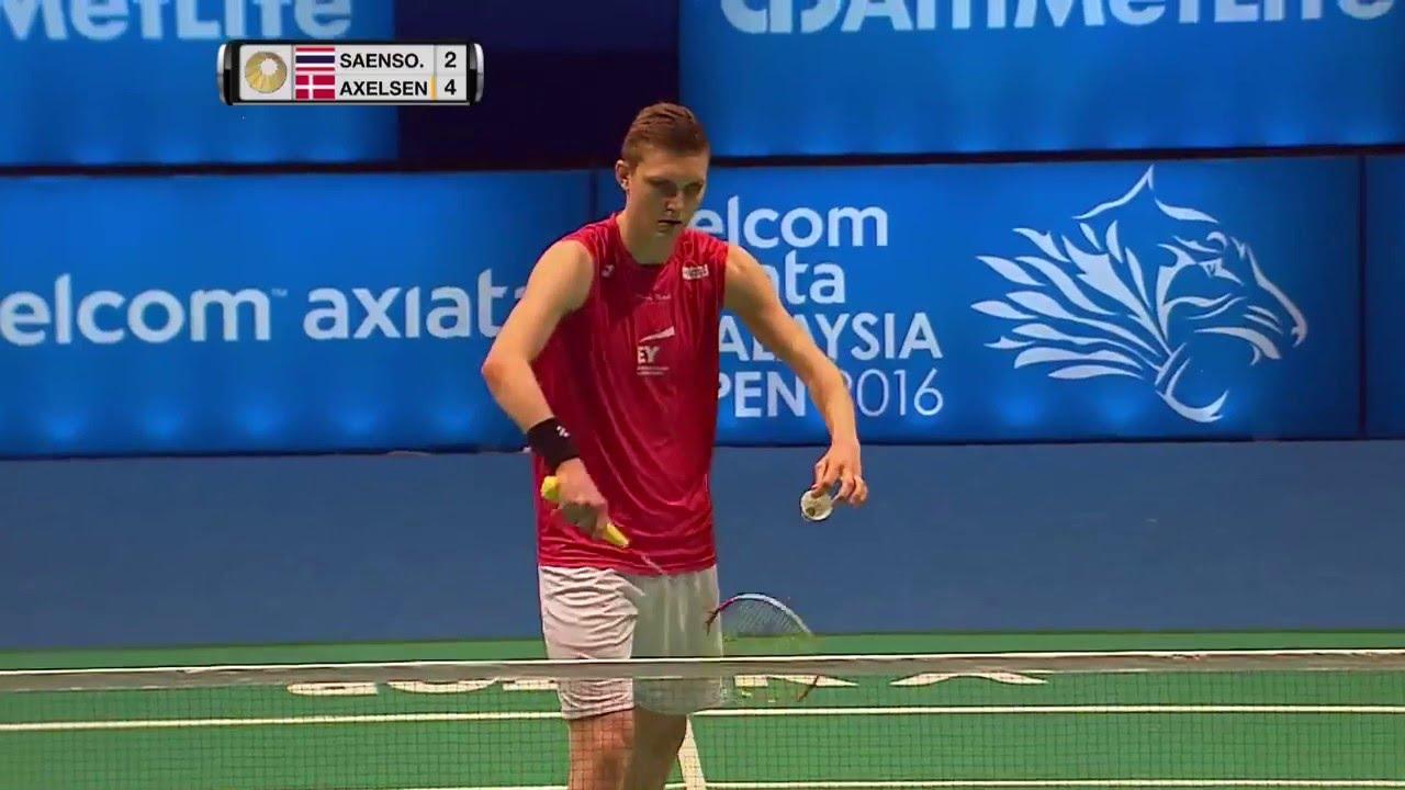Cel Axiata Malaysia Open 2016 Badminton R16 M2 MS