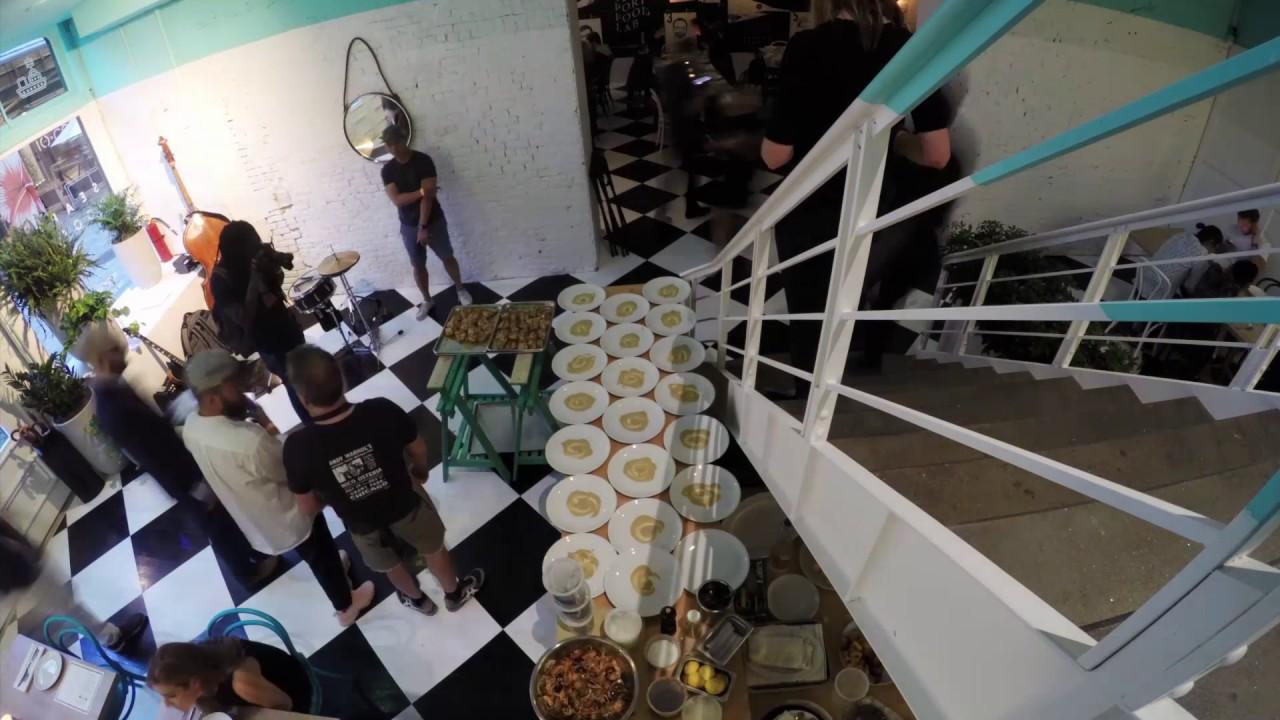 Seaport Food Lab Timelapse B Youtube
