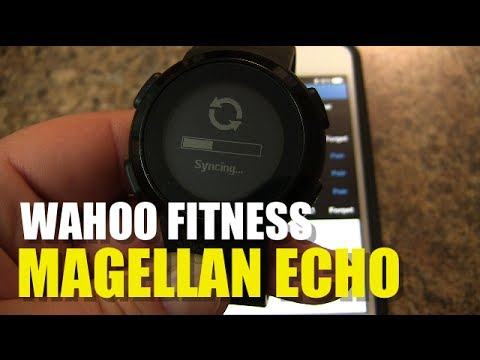 Magellan Echo How to Pair with Wahoo Fitness