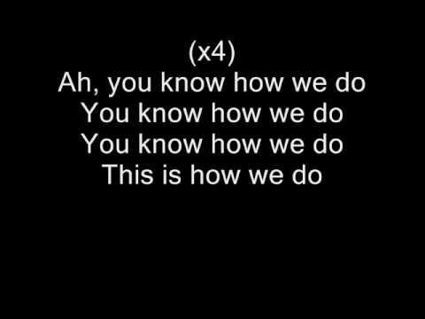 Mount SimsHow We Do+lyrics