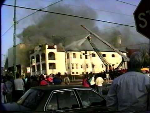 Olean NY - Elks Lodge Fire 1992