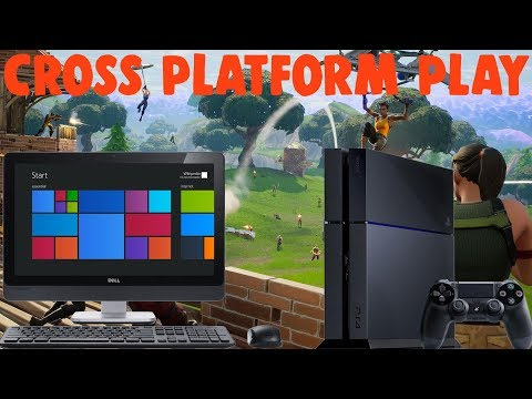 How To Cross Platform Play Fortnite (PS4/PC)