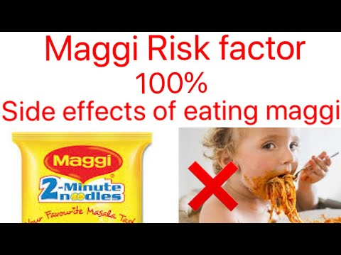 Maggi Side Effects | 100% | Side Effects Of Eating Maggi | Tamil | Sundhra Mukesh