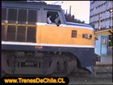 Salida de Tren Salon 1003 con destino a Chillán 29/09/1996