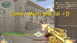 [ Bình luận CF ] M4A1-DMZ Ultimate Gold - Quang Brave