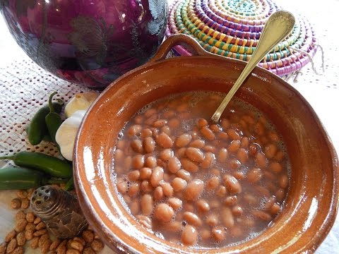 Mexican Beans From the Pot