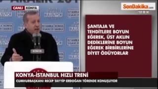 Konya Yolundayım Erdoğan versiyonu   yusuf yusuf :