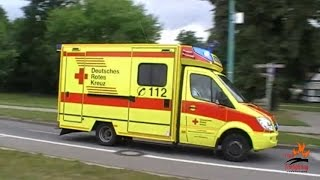 German ambulances and other EMS vehicles responding thumbnail