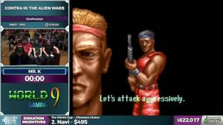 Contra III: The Alien Wars by Mr. K in 6:54 - Awesome Games Done Quick 2017 - Part 147
