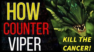 How to Counter Viper - a DOTA 2 counter picking guide