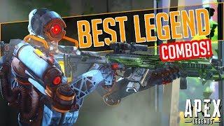 Apex Legends BEST Character Combos! (Win More Games)