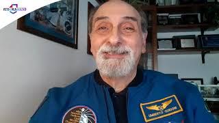 L'astronauta umberto guidoni testimonial della campagna #stoconlascienzal'astrofisico italiano, primo europeo a bordo stazione spaziale internazionale ...