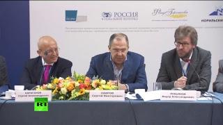 Сергей Лавров на ассамблее Совета по внешней и оборонной политике