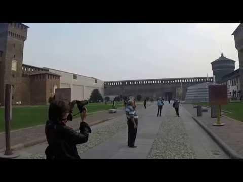 Castello Sforzesco - Sforza Castle - Milan