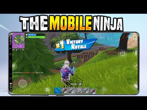 WORLDS BEST FORTNITE MOBILE PLAYER IN SEASON 9!! THE MOBILE NINJA! THE BEST FORTNITE MOBILE PLAYER!?