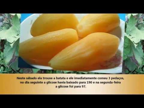 Receita para os diabéticos batata Yacon