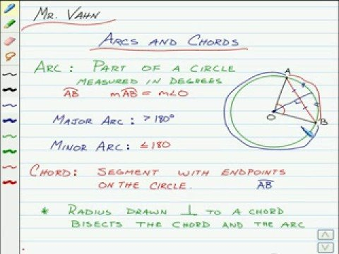 Arcs And Chords Youtube