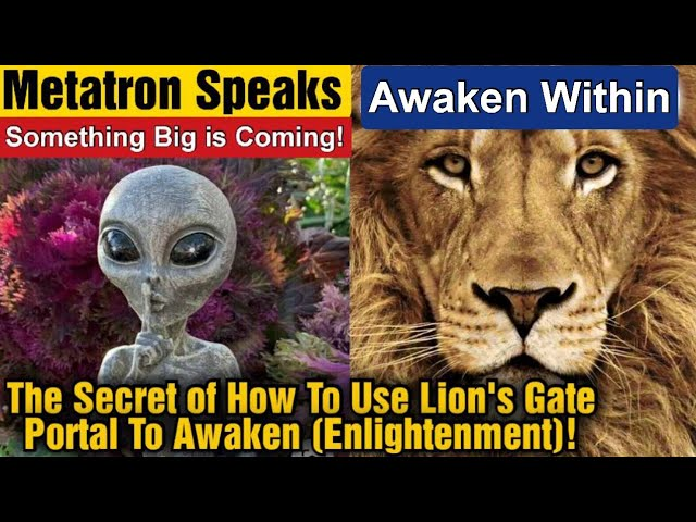 It's About to Get Real-Prepare Yourself For Lions Gate Portal: 3 Choices & Story of Awakening (2021)