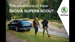 NEW ŠKODA SUPERB SCOUT IN THE FOREST